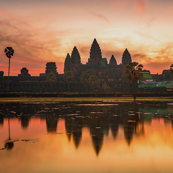 VISIT ANGKOR WAT, KINGDOM OF CAMBODIA